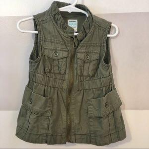 Toddler Girls Cargo Vest